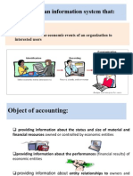 Object of Accounting