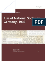 Rise of National Socialism Germany, 1933