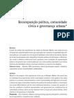 Anete Ivo - Recomposição política, comunidade cívica e governança urbana