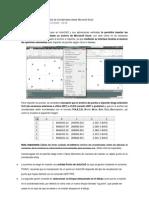 Punto de Excel a AutoCad