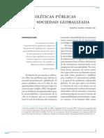 Las Políticas Públicas en la Sociedad Globalizada