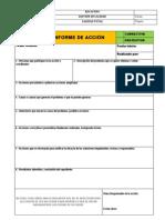 Informe de Accion Correctiva o Preventiva