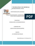 AUTOENSAMBLE, CATÁLISIS Y ESTRUCTURAS SUPRAMOLECULARESAUTOENSAMBLE, CATÁLISIS Y ESTRUCTURAS SUPRAMOLECULARES
