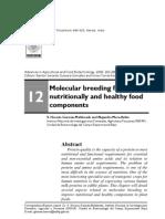 Molecular Breeding Foods