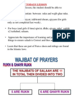 Pp Lesson Plan Munafiyyat of Salaah Cont