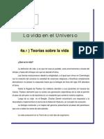 23 Tema IV- La Vida en El Universo