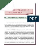 28 Tema V- Las Etapas de la Astronomía II