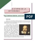 34 Tema V- Las Etapas de la Astronomía VIII
