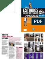 Guia de Estudios Universitarios y de Postgrado 2013-2014