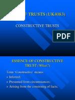 Constructive Trust