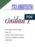 Estadistica Admon Carlos Gomez