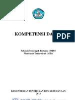 KOMPETENSI SMP TH 2013-Web Rizky Catatanku