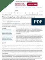 Alta tecnologia faz prédios resistentes a terremotos - Mundo - iG