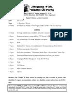FWP Citizens' Advisory Committee agenda for June 6, 2013
