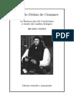 El Ordo Divino de Cranmer