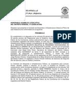 Sedesol Carlos or Valdez or Mariscal Programa de Transporte púBlico