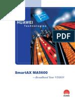 Smartax Ma5600 Brochure
