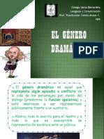 EL GÉNERO DRAMÁTICO NB5