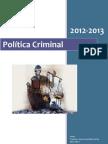 Apuntes Politica Criminal