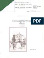 Relazione sul restauro dell' antico organo della Chiesa della S.S.ma Trinità in Ovaro