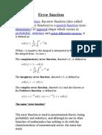 Error Function.sfe