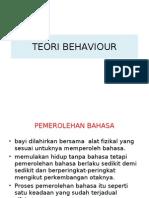 Teori Behaviour