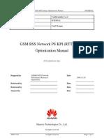 54 GSM BSS Network Performance PS KPI (RTT Delay) Optimization Manual[1].Doc