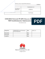 53 GSM BSS Network PS KPI (Success Rate of Uplink TBF Establishments) Optimization Manual[1].Doc