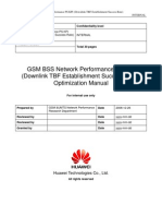 52 GSM BSS Network Performance PS KPI (Downlink TBF Establishment Success Rate) Optimization Manual[1].Doc