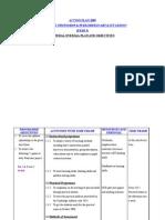 Action Plan 2008- Year 5