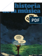 Comic Sobre La Historia de La Musica