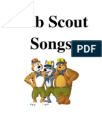 Cub Scout Songs