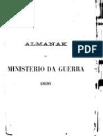 Almanak Do Ministerio Da Guerra - 1896