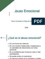 Abuso Emocional.pps