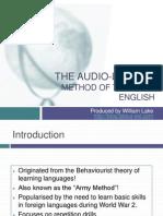 The Audio-Lingual Method of Teaching English