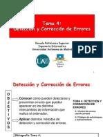 2.3 Métodos para detección y corrección de errores
