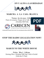 May 1 March to the White House