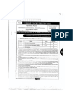 pspcl assistant engineer ece  exam question paper with answers 2012