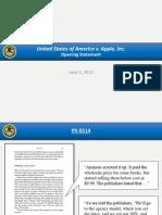 U.S. v. Apple Et Al Opening Slides 6-3-2013