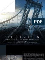 Booklet - Oblivion (Original Motion