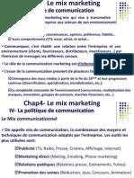 Chap4 Mix Mkg Politique de Communication