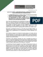 Ejecutivo apoya la implementación de la IDEP en Ucayali