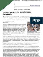 2013 04 15 - (Página_12 __ El mundo __ Maduro ganó en las elecciones de Venezuela)