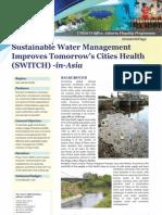 Switch - Unesco - Sustaintable Urban Water Management