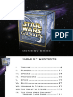 Star Wars Galaxies Memory Book