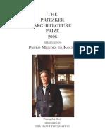 Paulo Mendez Da Rocha - Entrevista