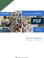 Jornadas DQUI Évora 2013 Livro de Resumos