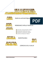 Monografia de Medicina Estomatologica