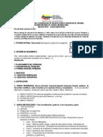 Informe de Avance Especificaciones