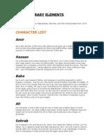 Kite Runner \Literary Elements